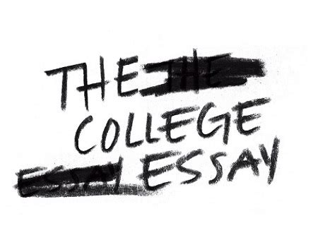 Examples of personal essays for college